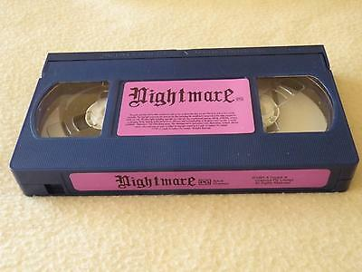 Nightmare Board Game - VCR Video Tape Replacement/Spare Part ONLY