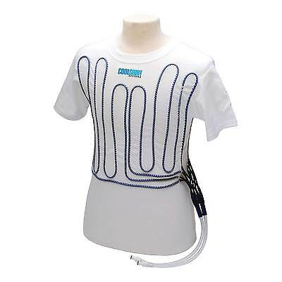 Cool Shirt Motorsport Short Sleeve Cooling Shirt / Base Layer In White