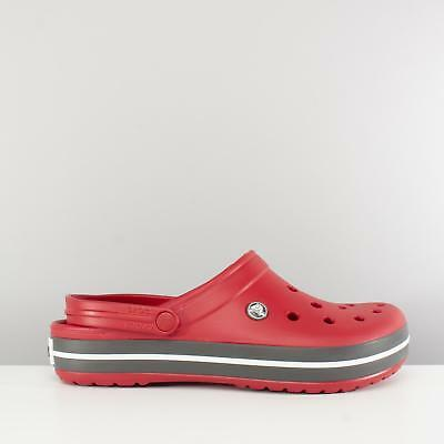 dfa8ed71b Crocs CROCBAND Unisex Mens Womens Ladies Croslite Lightweight Clogs Pepper  Red