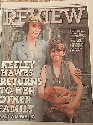 The Durrells KEELEY HAWES PHOTO COVER INTERVIEW APRIL 2017 CALLUM WOODHOUSE