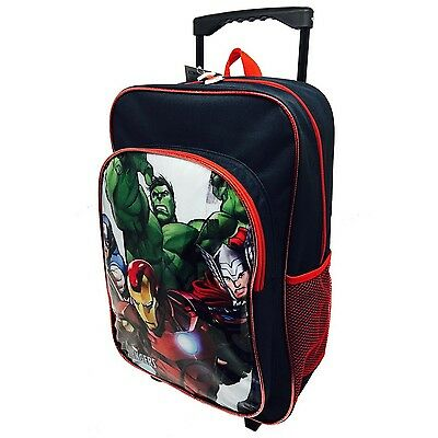 Marvel B100316 Avengers Deluxe Trolley Backpack