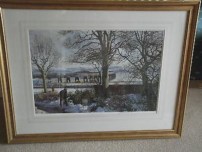 James McIntosh Patrick Print - Clearing the Spring Snows. Signed Ltd.Edition