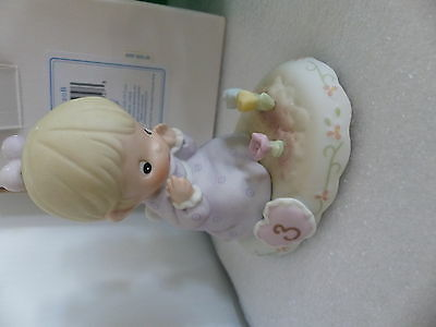 Precious Moments Growing in Grace Age 3 Blonde