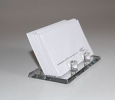 Mirror Acrylic Business Card Holder Display