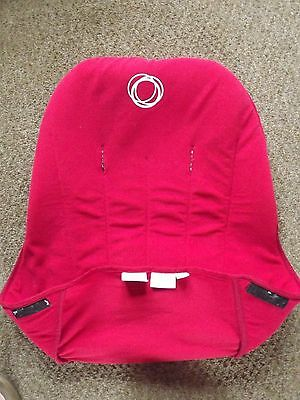 Bugaboo Cameleon Seat Cover Liner  in Red Fleece Fabric