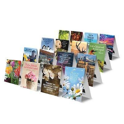 2017 Magnetic Bible Reading Bookmark and Schedule for Jehovah's Witnesses (Set o