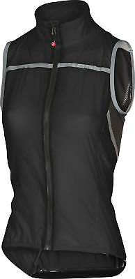 Castelli Superleggera Womens Bike Vest Black 2018