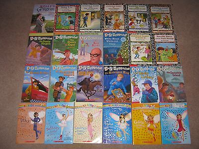 Lot of 48 2nd/3rd Chapter Books A-Z Mysteries Horrible Harry Flat Stanley NateGr