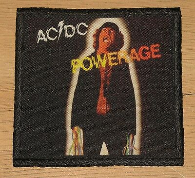 "AC/DC ""POWERAGE"" silk screen PATCH"