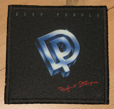 "DEEP PURPLE ""PERFECT STRANGERS"" silk screen PATCH"