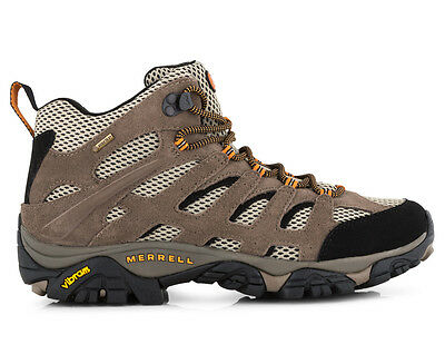 Merrell Men's Moab Mid Gore-Tex Boot - Walnut