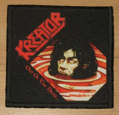 """KREATOR """"OUT OF THE DARK""""  silk screen PATCH"""