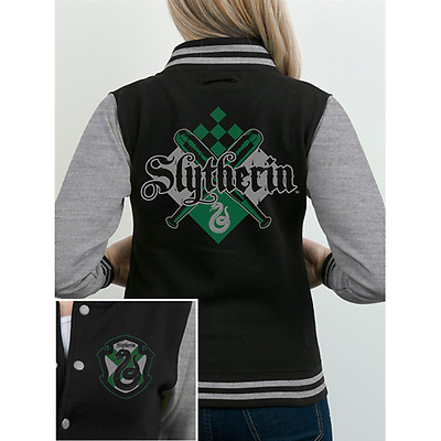 Harry Potter - House Slytherin (Varsity Jacket Unisex Tg. S)