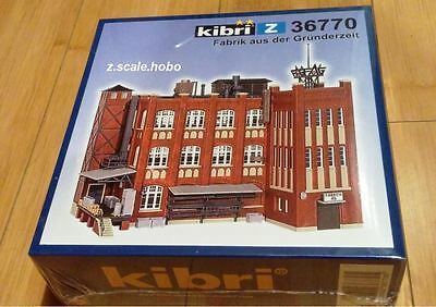 Kibri Z Scale 36770 Factory Business Industrial Building Kit *NEW* *USA $0 SHIP