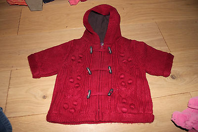 Veste / manteau / gilet bordeau Sergent major 3 mois fille