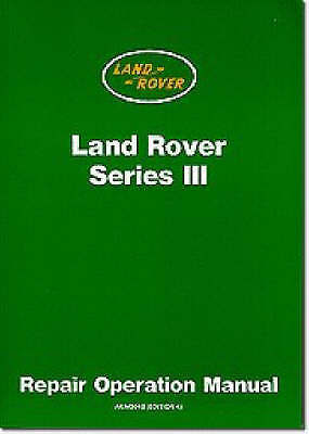 Land Rover Series 3 Workshop Manual, Land Rover Limited
