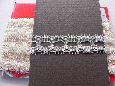 Card of New Lace - Cream Eyelet