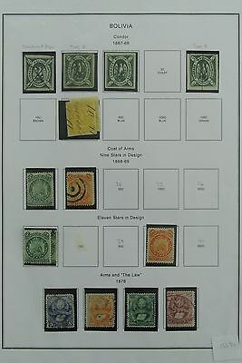 Lot 27035 Collection stamps of Bolivia 1867-2005.