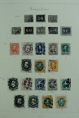 Lot 27039 Collection stamps of South America 1850-1950.
