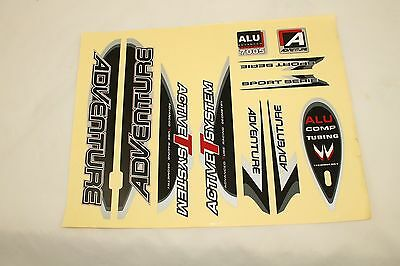 Aufkleber Set  Adventure  Original  Fahrrad Dekor  Sticker  Adventure *