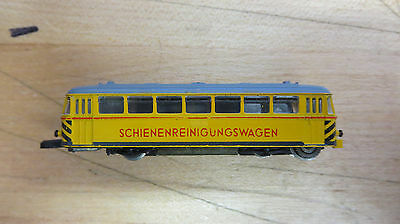 Marklin 8802 Track Cleaning Car Schienenreinigungswagen Z-Scale
