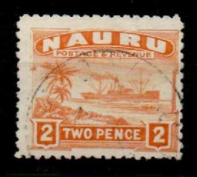 NAURU SG29A 1924 2d ORANGE USED
