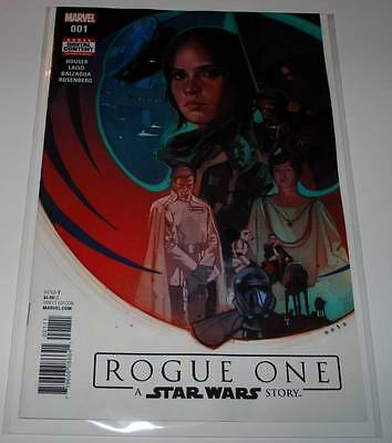 STAR WARS : ROGUE ONE Adaptation # 1  Marvel Comic June 2017 NM   1st Printing.