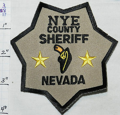 Nevada, Nye County Sheriff Dept Repro Patch