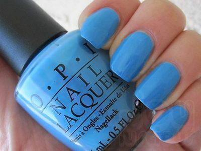 """Vernis ongle OPI """"no room for the blues"""" bleu NEUF 15ml"""