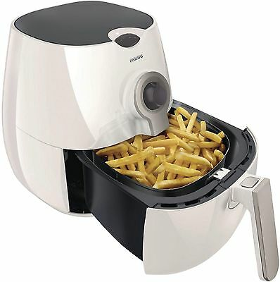 Philips Viva Collection Airfryer Low-Fat Fryer Multi-Cooker White/Silver Healthy