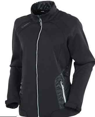 SUNICE GOLF CASSIE LIBBY S62502 WATER REPELLENT THERMAL Wx-TECH JACKET MED 10/12