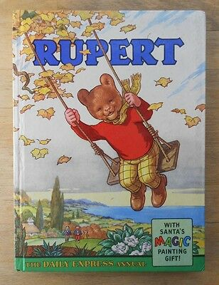 Rupert The Bear annual 1961, well preserved, politically incorrect