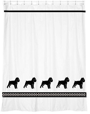 Brussels Griffon Shower Curtain *Our Original Design* Choice of colors