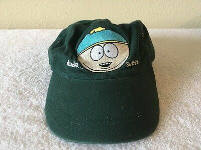 """South Park Eric Cartman """"Dude-Sweet"""" Embroidered Baseball Cap-Comedy Central"""