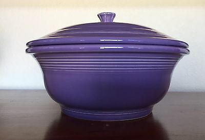 Fiesta Fiestaware retired Lilac Covered Casserole First Quality New in Box