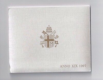 Vatican Coins Official 8 Coin Mint Set 1997  Anno 19