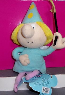 """1999 Stuffins Cvs Rocky And Bullwinkle Fractured Fairy Plush 10"""" Tall Doll Wand"""