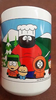 Original Classic South Park Coffee Mug 1997 Comedy Central Iconic Cast Character