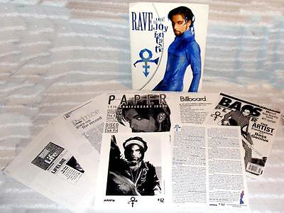 Very RARE PRINCE Symbol Un2 The Joy Fantastic 1999 Arista PRESS KIT photos 038