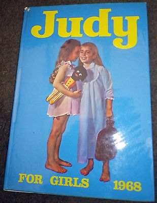JUDY for Girls Annual 1968 with dust jacket
