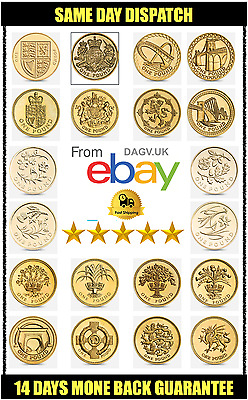 £1 Round One Pound Coin CAPITAL CITIES Complete Collection British Coins Album