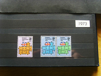 'gb Stamps - 1973 - Commemorative Issues' - Mnh