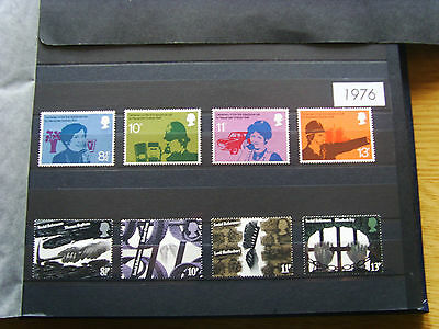 'gb Stamps - 1976 - Commemorative Issues' - Mnh
