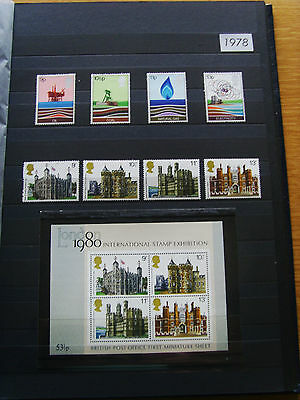 'gb Stamps - 1978 - Commemorative Issues' - Mnh