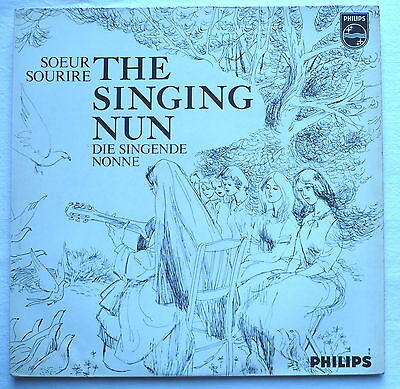 SOEUR SOURIRE - The singin nun / Die singende Nonne - LP