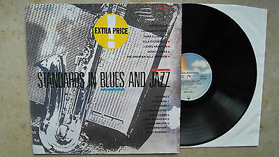 Various ‎– Standards In Blues And Jazz  , D`87, LP ,Vinyl:vg+