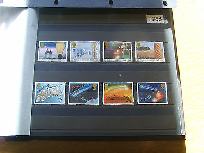 'gb Stamps - 1986 - Commemorative Issues' - Mnh