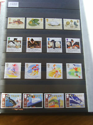 'gb Stamps - 1988 - Commemorative Issues' - Mnh/used