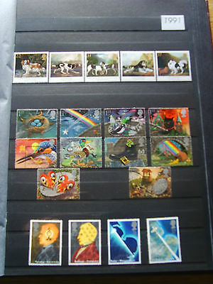 'gb Stamps - 1991 - Commemorative Issues' - Mnh/used