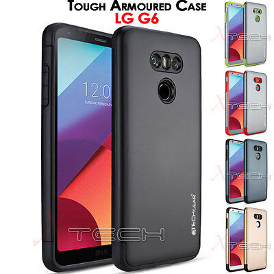 LG G6 TOUGH ARMOURED Slim Fit Shock Proof Hard Protective Case Cover